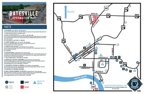Batesville Destination Map